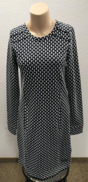 Kleid mit dekorativem Jacquard- Muster