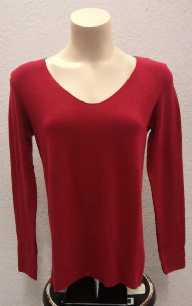 Leichter Pullover mit Angora