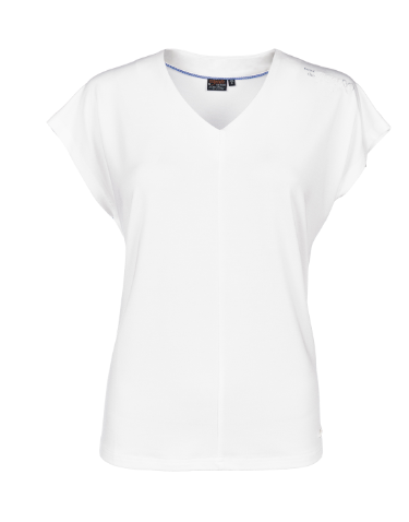 T-Shirt in fließender Modal-Qualität.