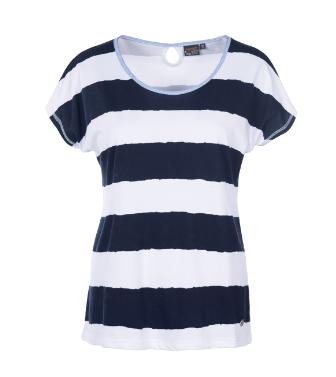 T- shirt mit Blckstreifen
