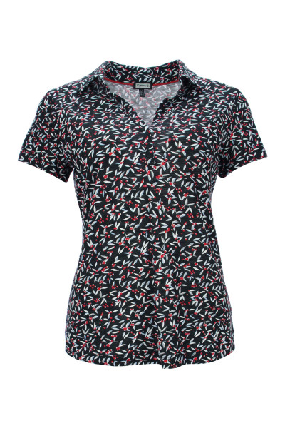 Alloverprint Poloshirt