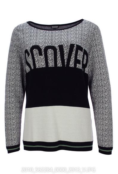 Pullover mit Schriftmotiv