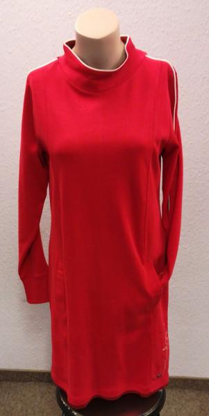 Leuchten rotes Kleid