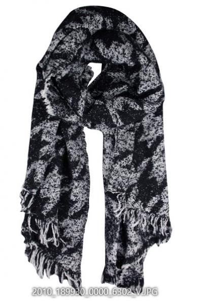 Hahnentritt Schal
