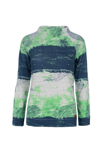 Leichter Pullover mit modernem Turtleneck.